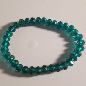 Jewelry - Green crystal bracelet